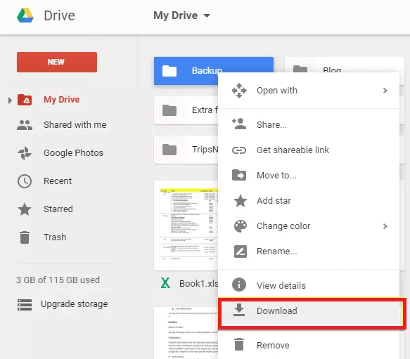 Retrieve Deleted Voice Recordings from Google Drive Backup