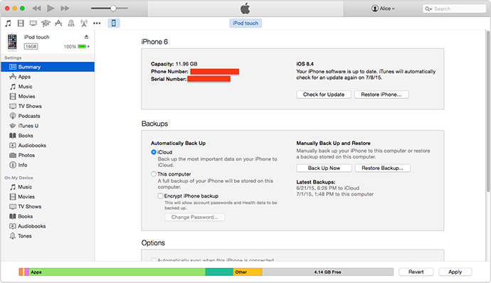 Install iOS 8.4 for iPhone/iPad by Using iTunes on Mac or PC