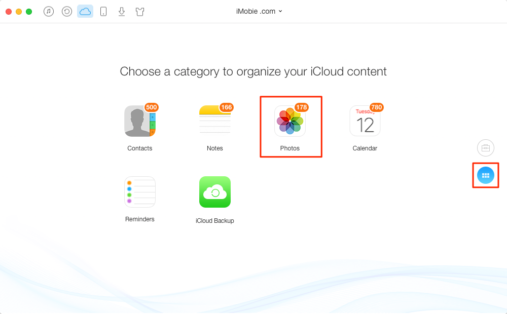 How to Download Photos from iCloud – Step 2