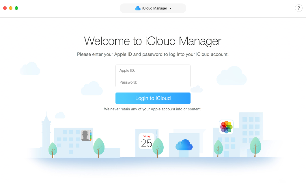 How to Download Photos from iCloud to New iPhone via AnyTrans for iOS - Step 2