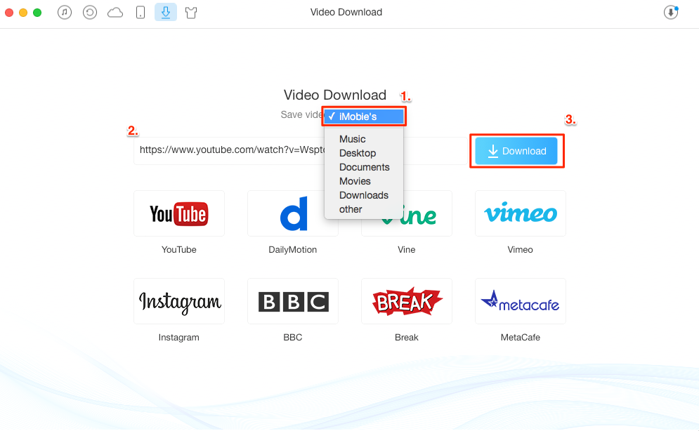 How to Download Videos from Websites to iPod – Step 2