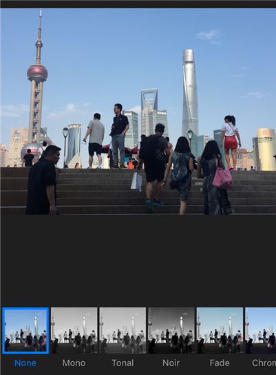 Apply Filters to Your Photo in Photos on iPhone