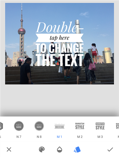 Add Text to Your Photo in Snapseed