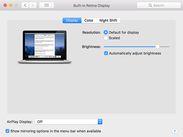 Enable the AirPlay feature on Mac