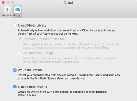 Enable iCloud Photos Upload on Mac