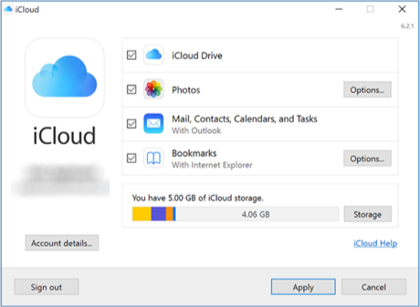 Enable Notes Sync in iCloud for Windows