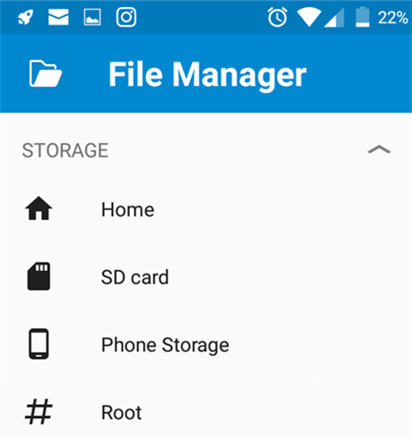 Find and Delete Root Files