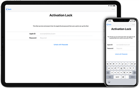Input the iCloud Password to Unlock the iPhone