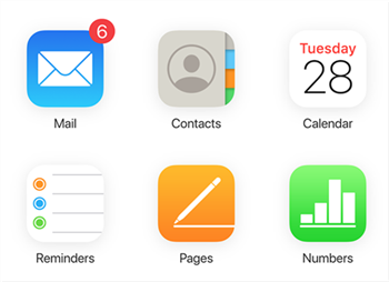 Access contacts on iCloud