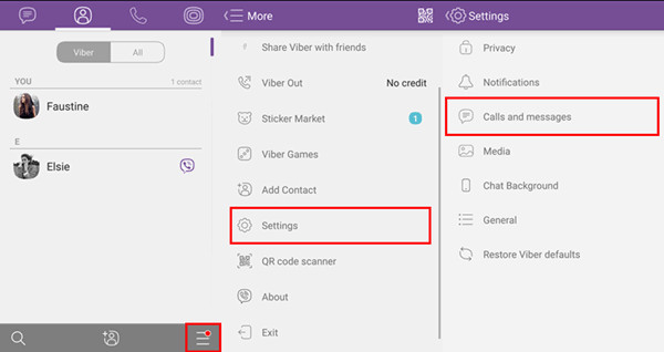 Send Viber Messages to PC via Email