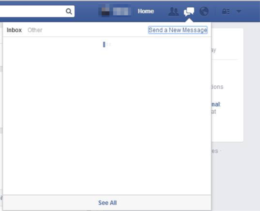 Facebook Messages Not Working