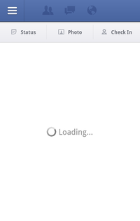 Facebook Not Loading