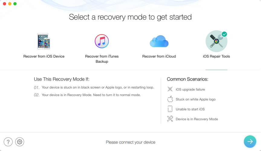 How to Factory Reset iPod Touch without iTunes - Step 1