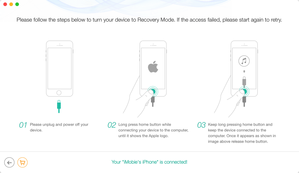 How to Factory Reset iPod Touch without iTunes - Step 3