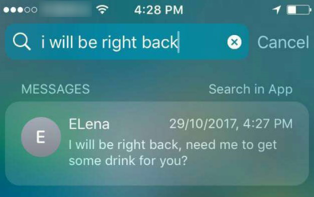 How to Spotlight Search iPhone Deleted Messages - iMobie Inc