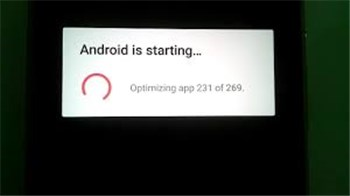 How to Fix Android is Starting Optimizing App 1 of 1 – iMobie Inc