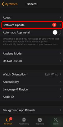 How to Fix Apple Watch Not Connecting to iPhone via Software Update