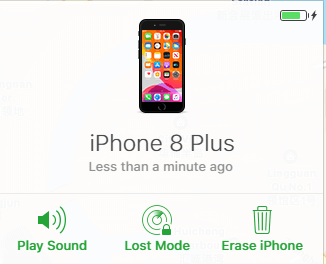 Erase your iPhone on iCloud