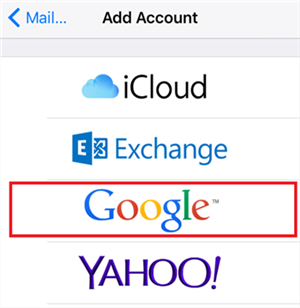 Fix Google Calendar Not Syncing with iPhone Calendar - Add Google Account