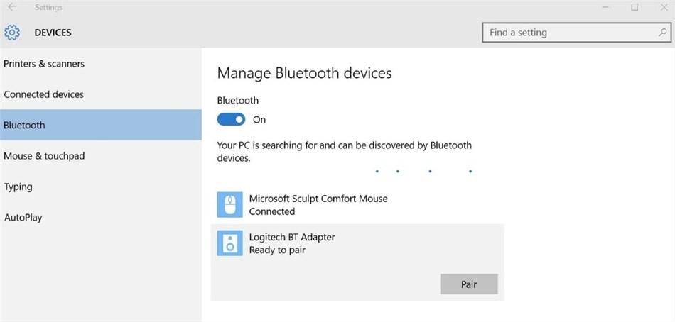 Connect Huawei to a Computer via Bluetooth - Step 2