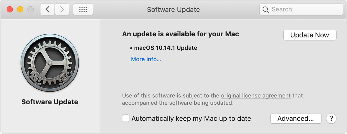 Check macOS Updates