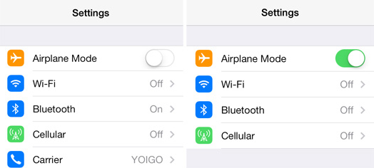 Fix - iMessage Won't Activate via Turn on and Off Airplane Mode