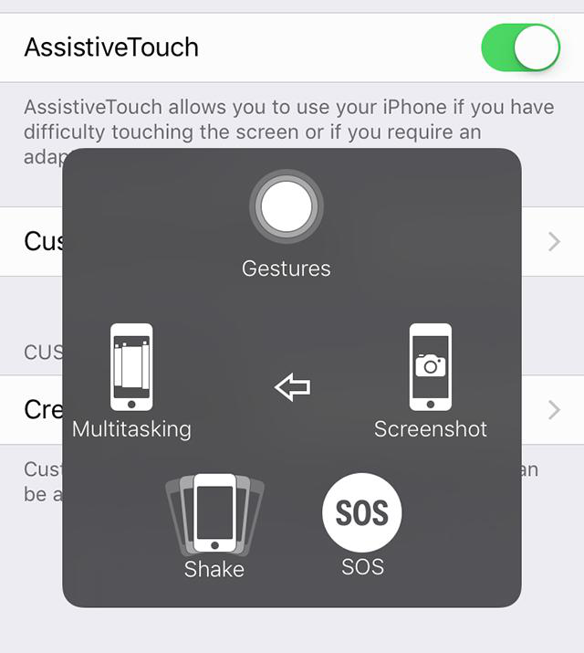 Fix iOS 12 Screenshot not Working with AssistiveTouch - Step 2