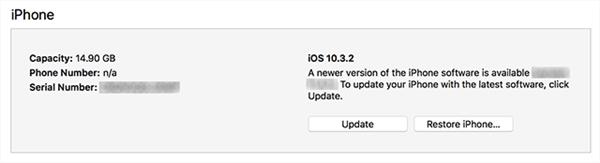 Update iOS Version Using iTunes