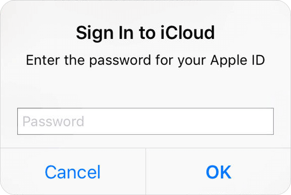 iPhone Keeps Asking for Password Error