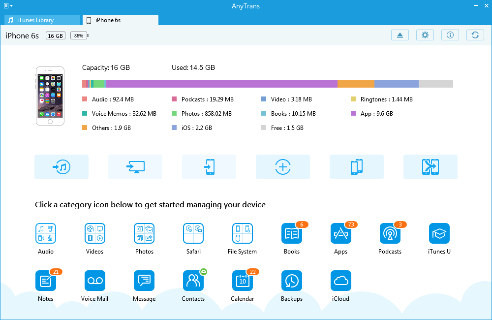 Best iOS Manage Tool – AnyTrans