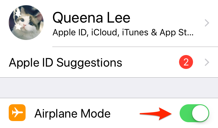 Fix iOS 11 Visual Voicemail Not Working – Airplane Mode