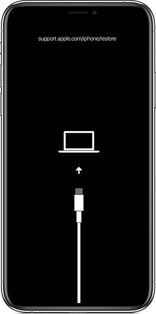 Reboot the iPhone into Recovery Mode