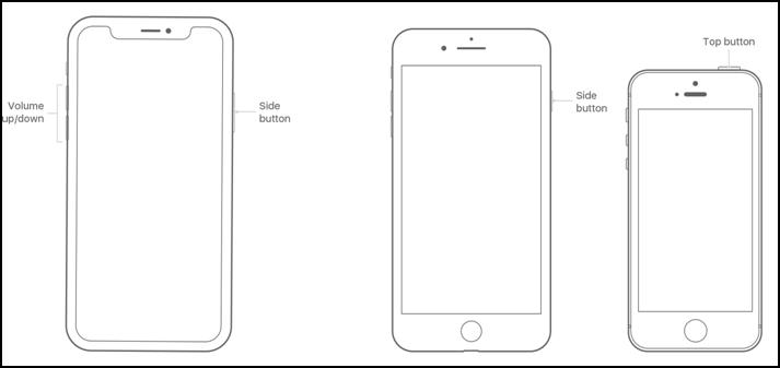 Fix iPhone Headphone Jack Not Working - Restart the iPhone