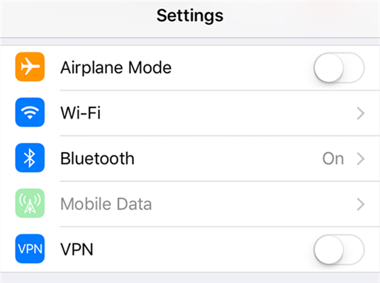 Enable and Disable Airplane Mode on your iPhone