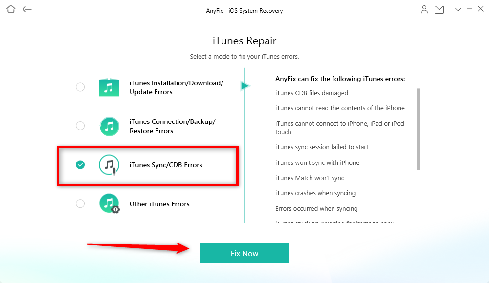 Fix iTunes Add to Device Nothing Happens Issue – Use AnyTrans
