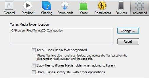 Fix iTunes Cannot Locate CD Configuration Folder - Method 3