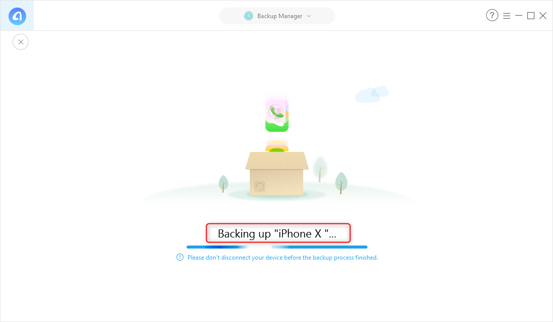 Fix iTunes Could Not Back Up the iPhone – Step 2