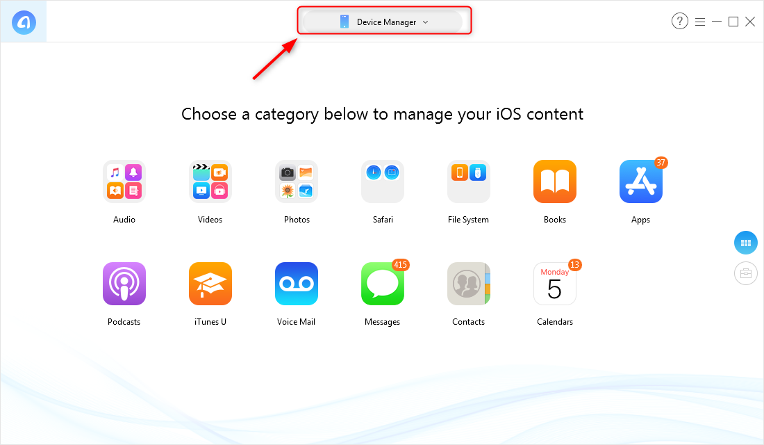Selectively Backup Your iPhone with AnyTrans for iOS
