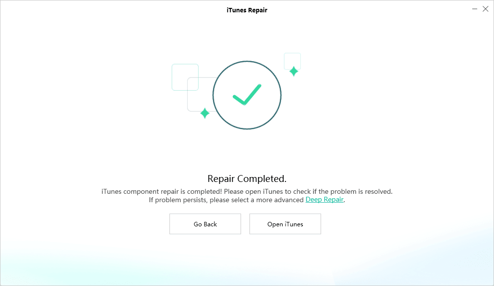 Repair Completed