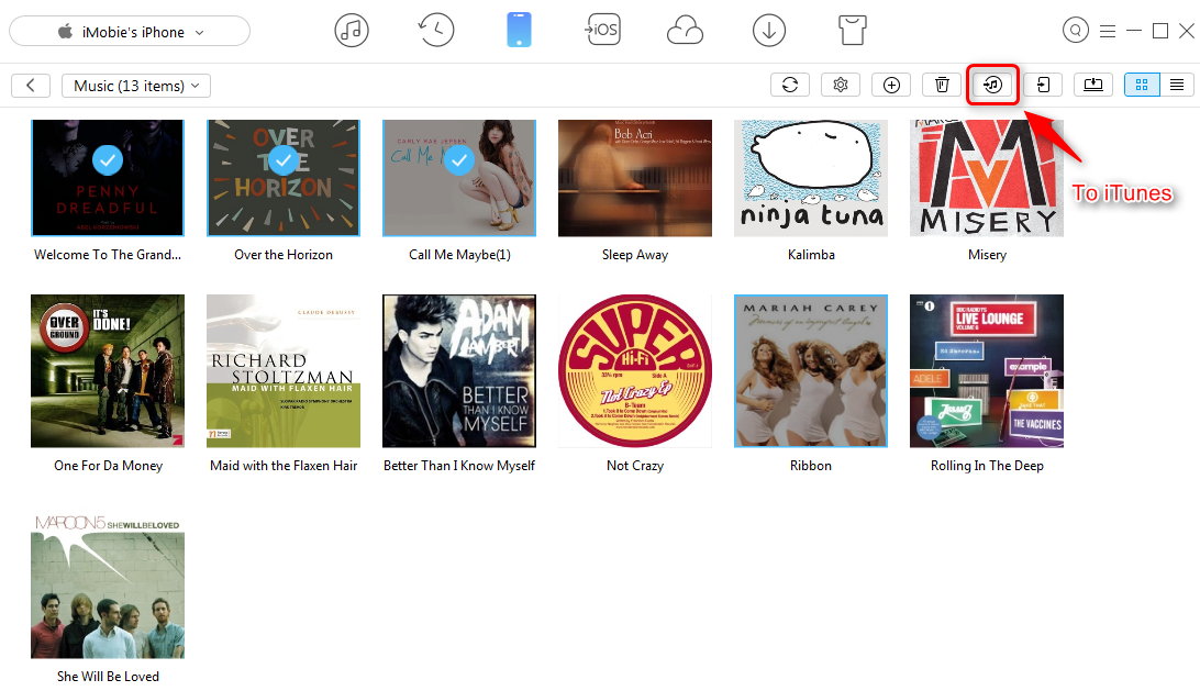 How to Fix iTunes Won't Sync Music to iPhone – Step 2