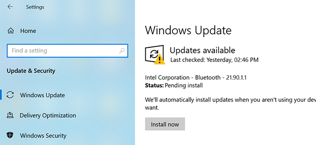 Update the Windows Version