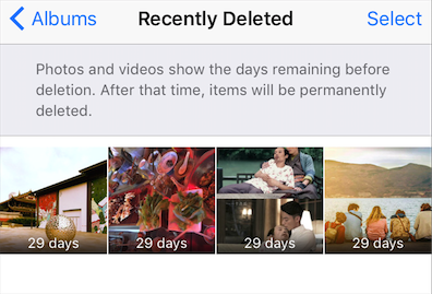 Fix iPhone 8/X Photos Disappeared by Recently Deleted Album