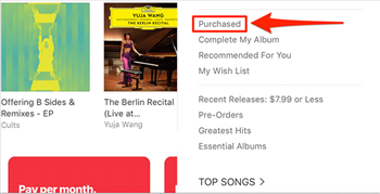 Access Purchased Content in iTunes