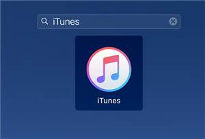 Open the iTunes App on your Computer