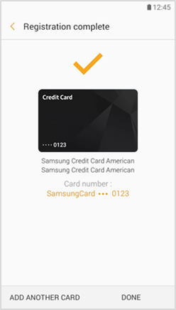 Remove and Add A New Card on Samsung Pay