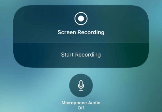 Fix iOS 11 Screen Recording No Sound -  Enable Microphone