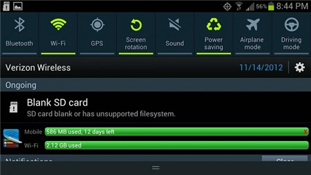 SD Card Blank or Unsupported File System