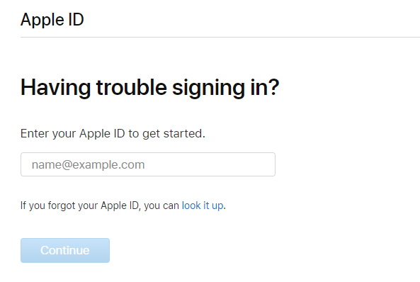 Fix: Your Account Has Been Disabled in the App Store and iTunes via Unlock your Apple ID