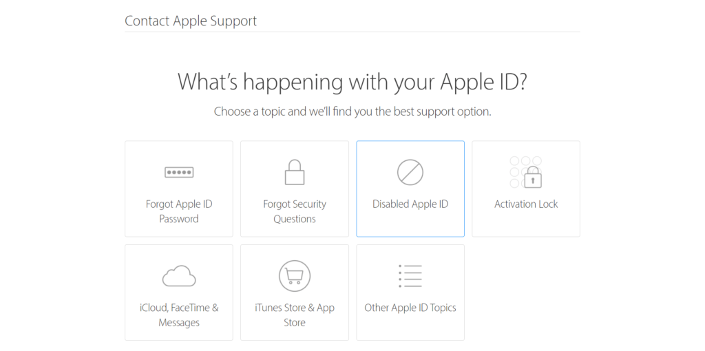 Fix: Your Account Has Been Disabled in the App Store and iTunes via Contact Apple
