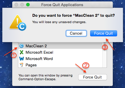 Force an App to Close on Your Mac
